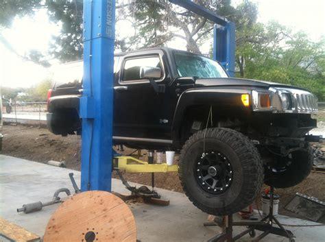 H3 Straight Axle Swap