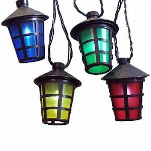 Lampion Lichterkette Solar : solar led party lichterkette 10er lampions bunt jfs040 ~ Watch28wear.com Haus und Dekorationen