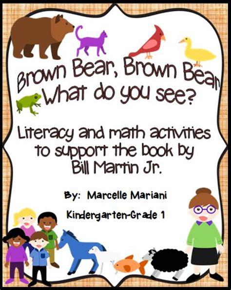 brown literacy and math activities for kindergarten 818   97e4a59ebf333144ca8a5edd426e81b5 maths fun brown bears