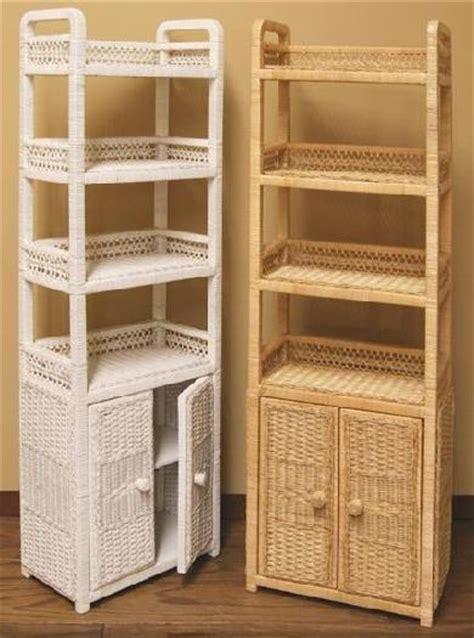 wicker storage shelves wicker corner cabinet shelf