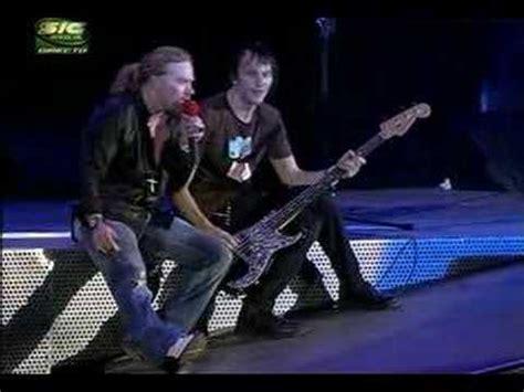 testo patience guns n roses guns n roses patience rock in 2006