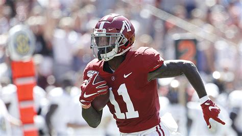 henry ruggs injury update alabama receiver  concussion