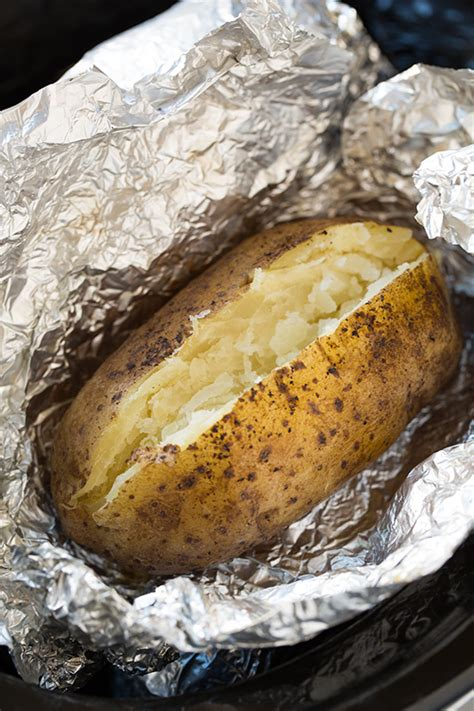 what can you make with potatoes slow cooker quot baked quot potatoes popsugar food