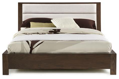 hudson upholstered platform bed transitional platform