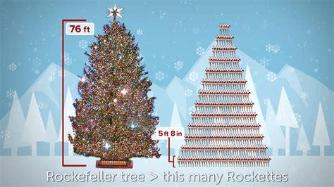 rockettes tall  rockefeller tree