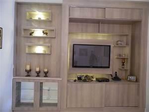 Meuble tv meubles et decoration tunisie for Deco cuisine pour meuble tv bois