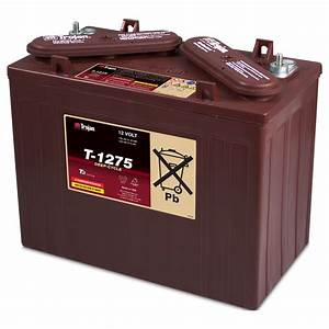 T1275 Trojan 12 Volt Golf Cart Battery
