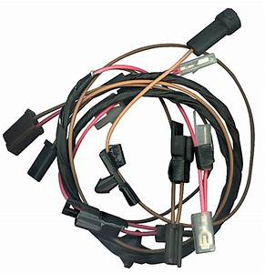 M U0026h Chevelle Cowl Induction Wiring Harness Fits 1964