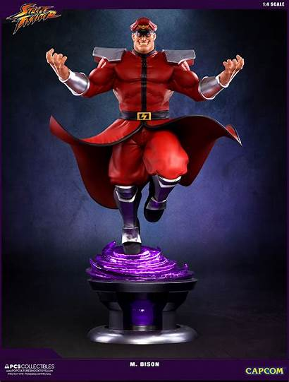 Bison Fighter Street Statue Collectibles Shock Culture