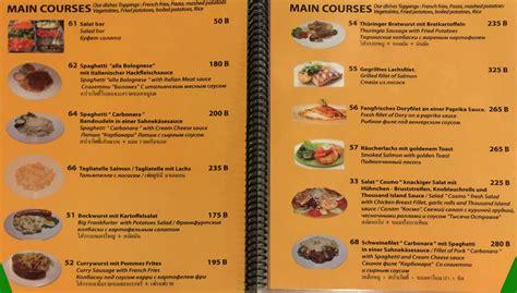brauhaus restaurant  road pattaya deutsches