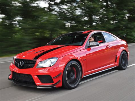 Low Mileage 2013 Mercedes-benz C63 Amg Black Series For