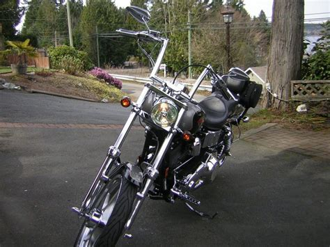 todds cycle 10 quot bars on 97 wideglide harley davidson forums