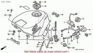 Honda Cbr400rr 1989  K  Japanese Domestic    Nc23-109 Fuel Tank