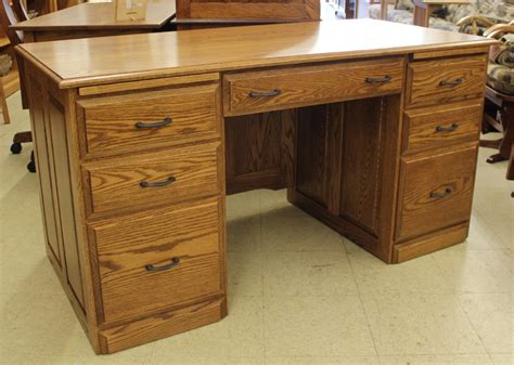 what is a double pedestal desk 58 traditional double pedestal executive desk amish