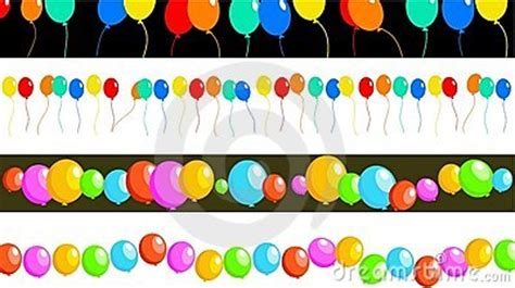 balloon borders royalty  stock images image