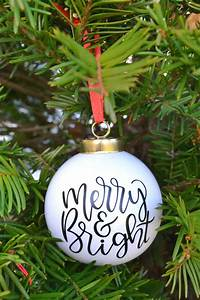 Making, Christmas, Ornaments, With, Cricut, Is, Easy, U2013, Mary, Martha, Mama