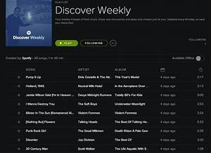 Spotify delivers 'Discover Weekly' personalized playlists ...