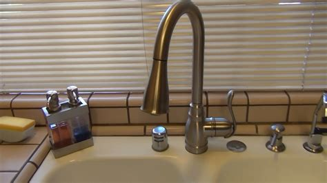 moen anabelle kitchen faucet leaking moen anabelle kitchen faucet ca87003srs review