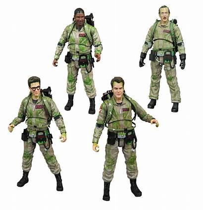 Ghostbusters Action Figures Diego San Con Comic