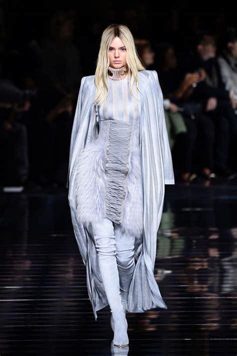 KENDALL JENNER at Balmani Fashion Show at Paris Fashion ...