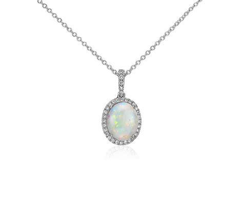 Opal And Diamond Pendant In 14k White Gold (10x8mm)  Blue. Multicolor Gemstone Bracelet. Aphrodite Pendant. Platinum Chains. Aqua Marine Earrings. Thick Bracelet. Mother Jewelry Bracelet. Diamond Emerald. Islamic Wedding Rings