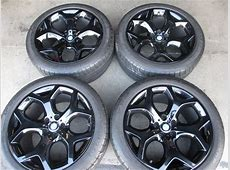Four 20072014 BMW X5 X6 X5M factory 20 Wheels Tires OEM