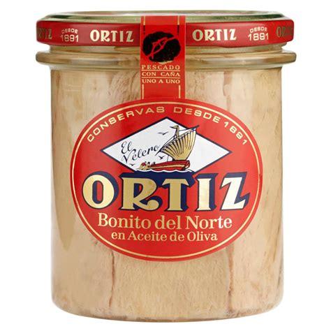 Ortiz Bonito Del Norte White Tuna In Olive Oil 220 G
