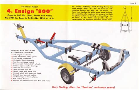 Boat Trailer Parts Names by Sterling Trailer Parts Page 1 Iboats Boating Forums