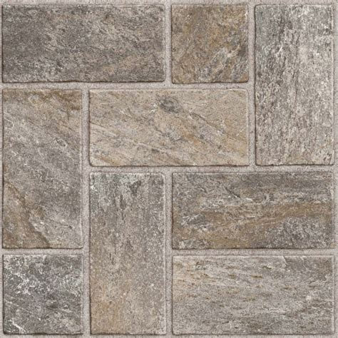 groutable vinyl tile reviews shop style selections 12 in x 12 in quartz peel