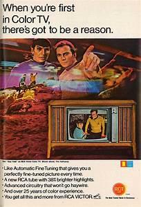 Vintage Color Television Ads