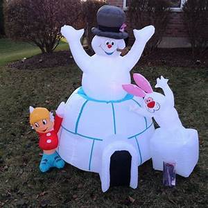3 Ft Lighted Snowman 88 Best Images About Frosty The Snowman Inflatable On