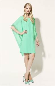 57 best les robes en couleur images on pinterest color With robe fluide droite