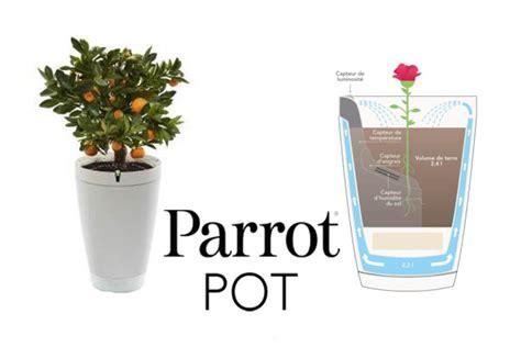 ifa 2016 parrot pot le pot de fleur connect 233 qui prend soin de votre plante
