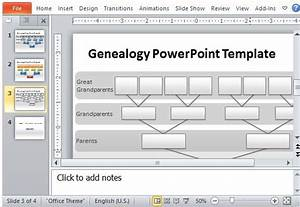 genealogy tree powerpoint template With powerpoint genealogy template