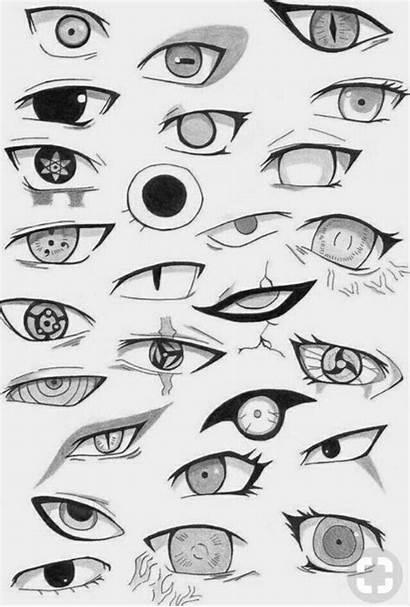 Ojos Anime Naruto Guardado Desde Uploaded