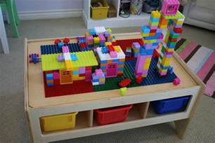 childcraft toddler multi purpose play table with building block top it 39 s a lovely