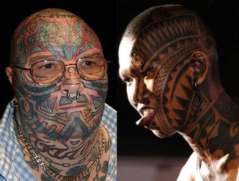 tribal face tattoo  tattoos   maori