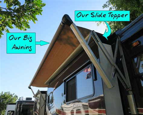 slide out awning easy rv mod gt slide topper replacement with tough top