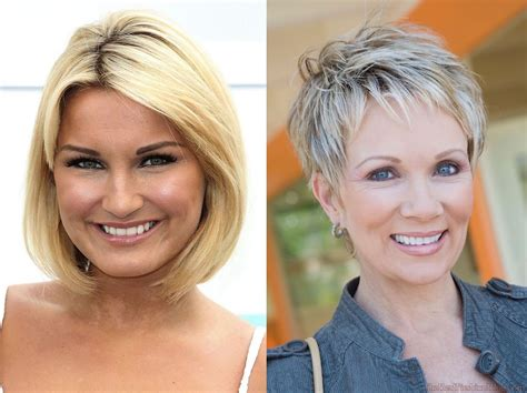 21 Short Hairstyles For Older Women To Try This Year