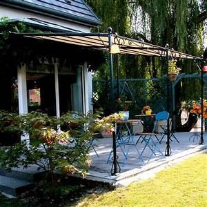 Les 25 meilleures idees de la categorie tonnelle adossee for Ordinary tonnelle jardin fer forge 8 prix pergola comment lestimer devis pergola en ligne