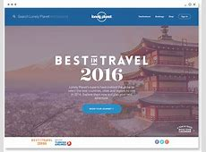 Case study Best in Travel 2016 Campaign Lonely Planet