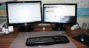 Zwei Monitore Verbinden : 2 monitore an einem pc anschlie en ~ Jslefanu.com Haus und Dekorationen