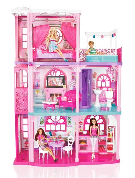 Amazon.com: Barbie 3 Story Dream Townhouse: Toys & Games