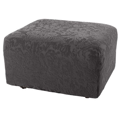 And Ottoman Covers by Sure Fit Ottoman Slipcover Home Furniture Design
