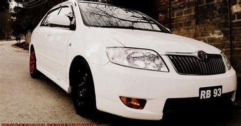 modified toyota corolla modified cars modified toyota corolla x 2006