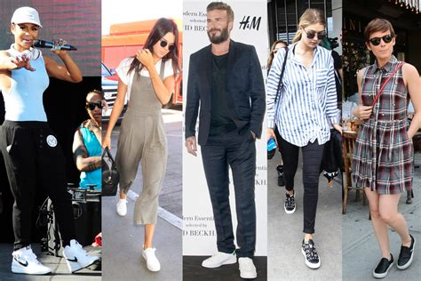 celebrity sneaker style summer  footwear news
