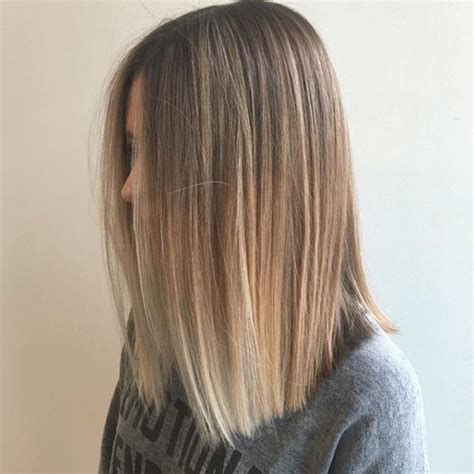 balayage straight hairstyles  cruckers