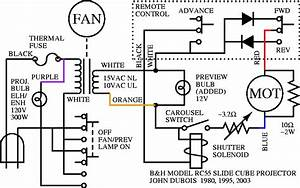 Slide Cube Projector Schematic