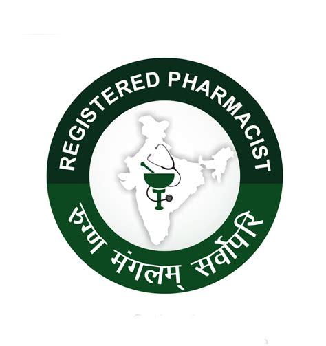Registered Pharmacist by Pharmacist Monogram Logo Approved In India Pharmagang