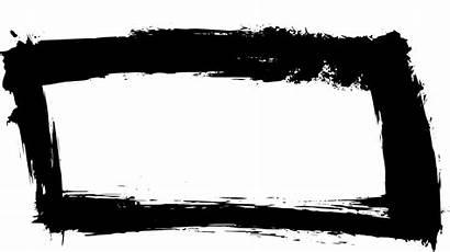 Rectangle Frame Banner Grunge Transparent Onlygfx